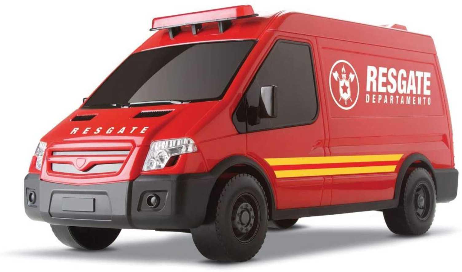 Carrinho De Brinquedo Supervan Resgate - Roma Brinquedos
