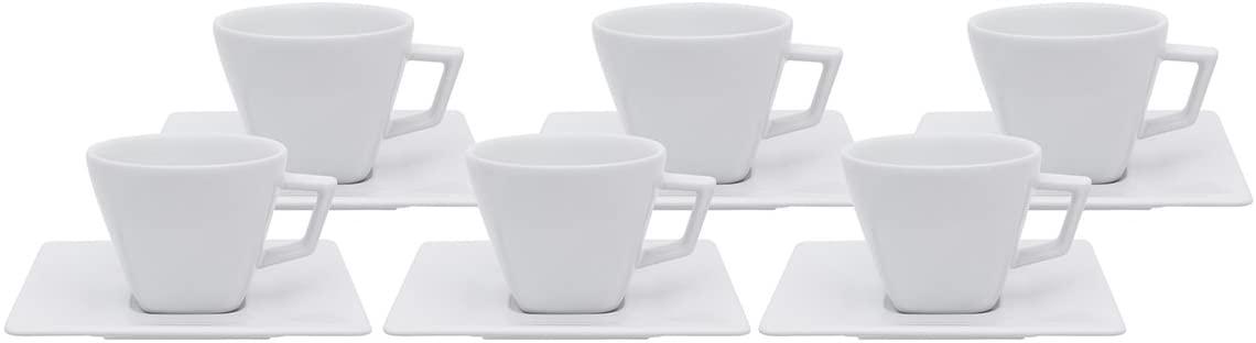 Conjunto de Chá 12 Peças White - Oxford
