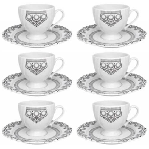 Conjunto de Chá c/ 12 Peças Henna - Oxford