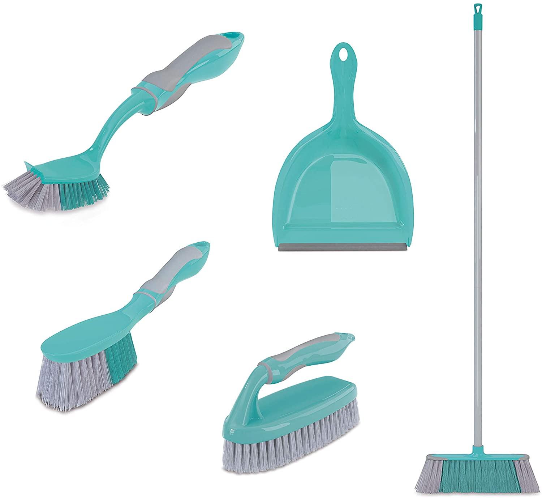 Conjunto de Limpeza Multiuso 5 Peças - FlashLimp