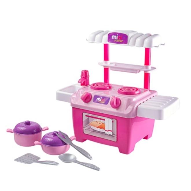 Cozinha Mini Cooker de Brinquedo 492 - BS Toys