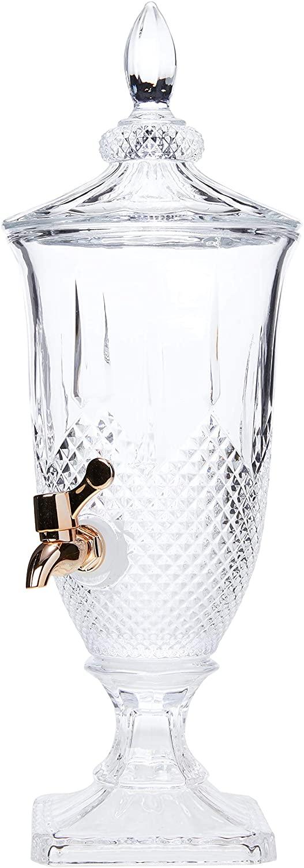 Dispenser de Cristal Diamante Cobre 2 Litros - Lyor