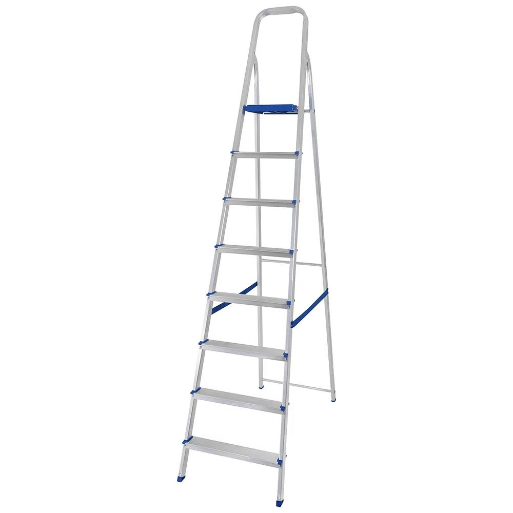 Escada MOR de Alumínio c/ 8 degraus
