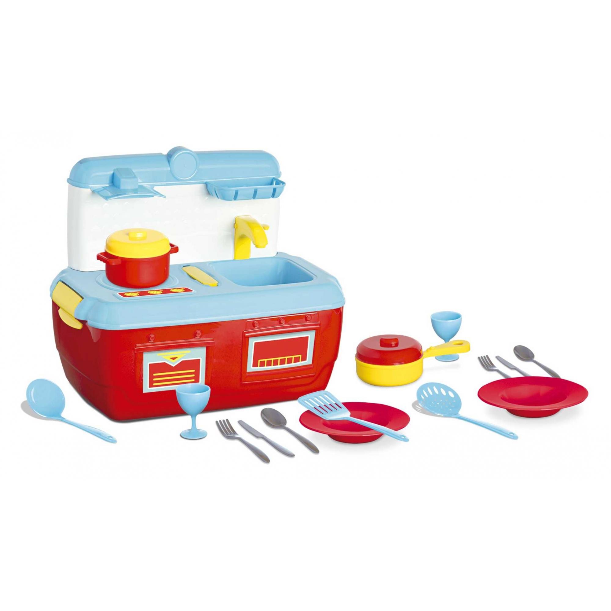 Fashion Kitchen - Maleta Conjunto Cozinha - Roma Brinquedos