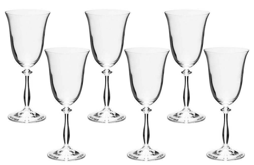 Jogo 6 Taças Para Vinho Tinto Bohemia Transparente 250ml