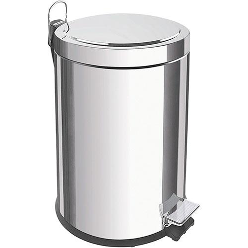 Lixeira Aço Inox 5 Litros com Pedal e balde - Tramontina