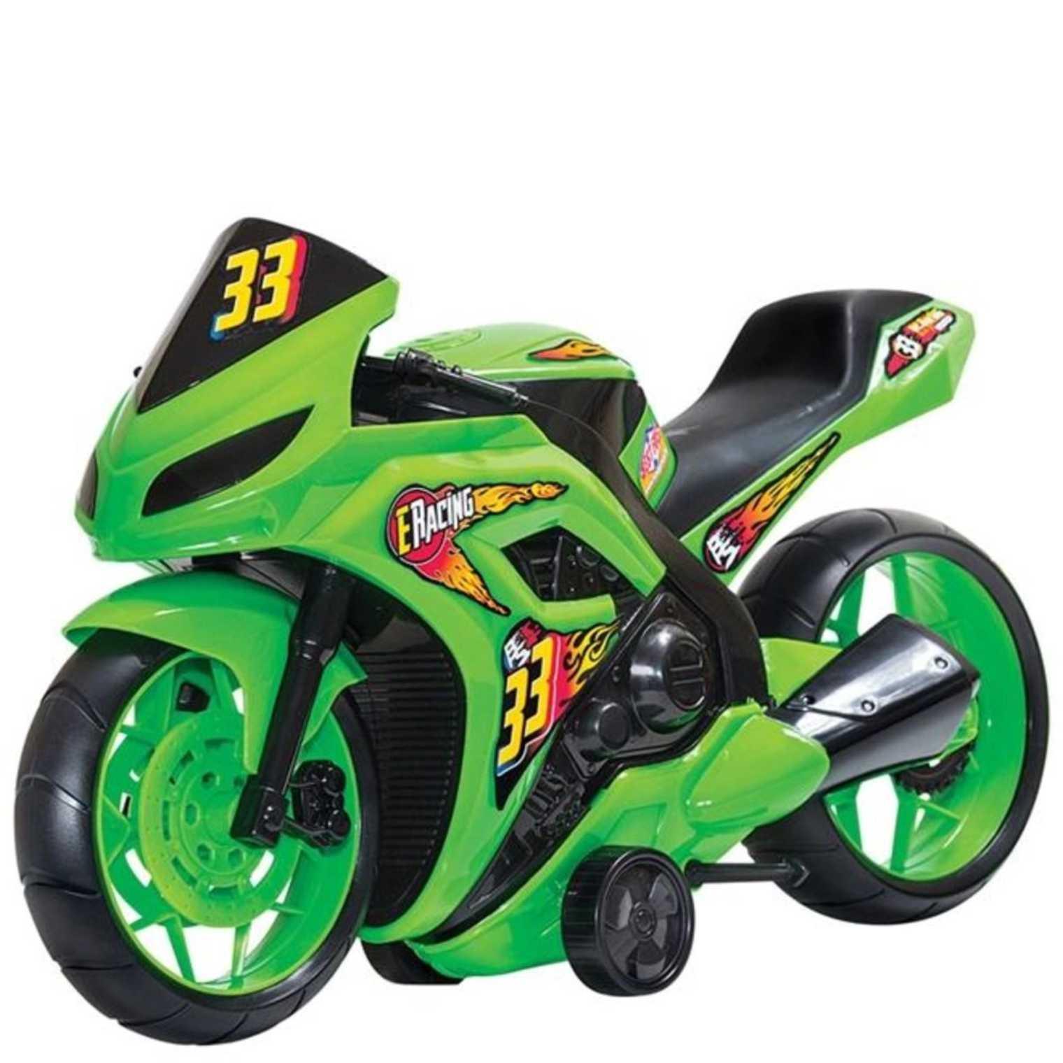 Moto Racing Amarelo - Bs Toys