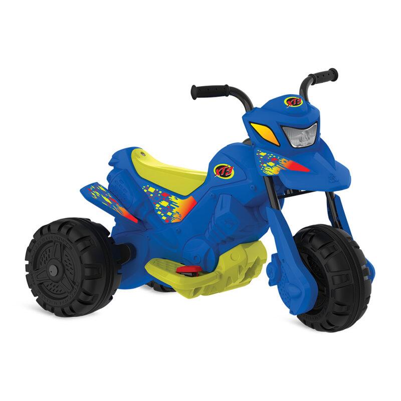 Moto Elétrica 6V XT3 Azul - Bandeirante
