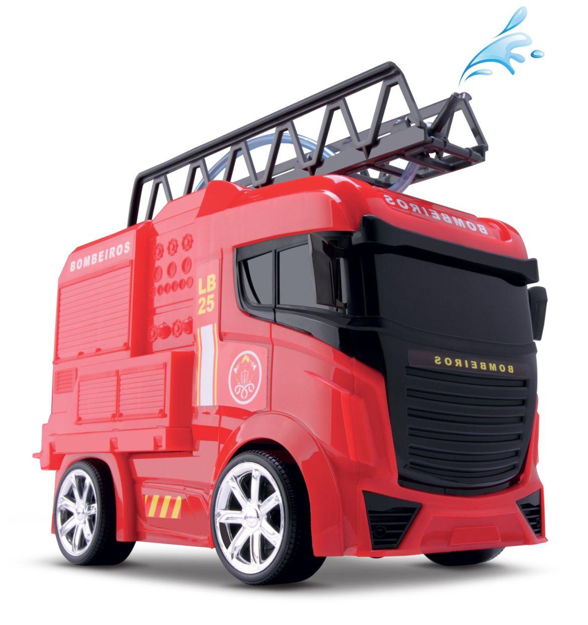 Next Race Fire Caminhão de Bombeiro - Roma Brinquedos