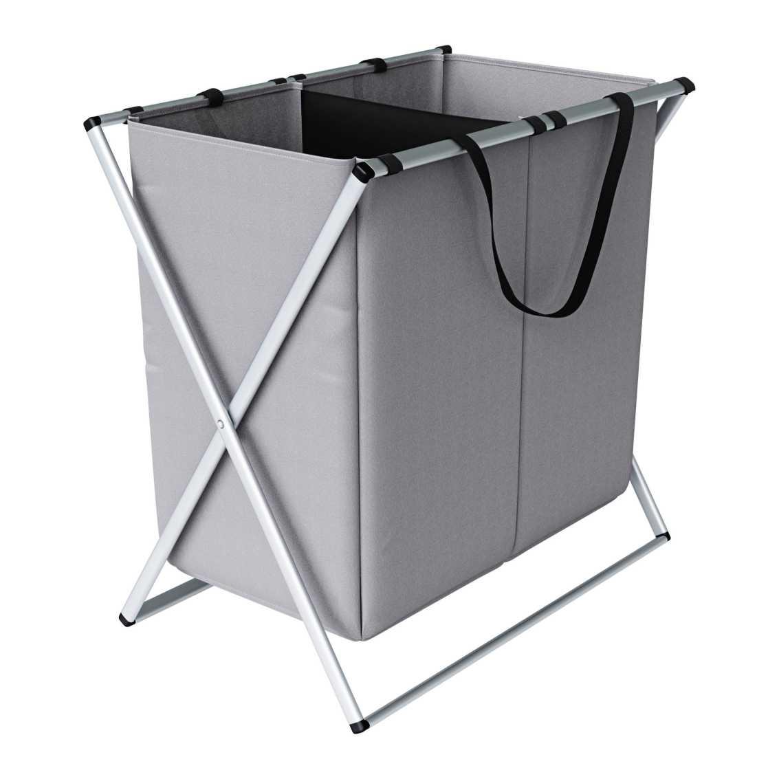 Organizador de Roupas Sujas com 2 Compartimentos