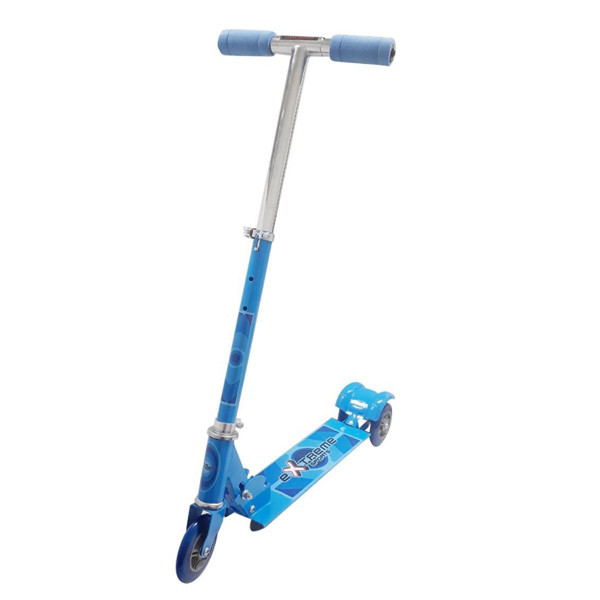 Patinete Azul Dobrável Dony Toys