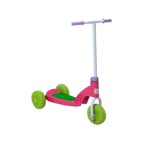 Patinete Rosa Vapt Vupt Magic Toys Com Luzinhas