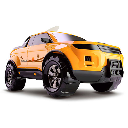 Pick-Up Force - Surfing Concept - Roma Brinquedos