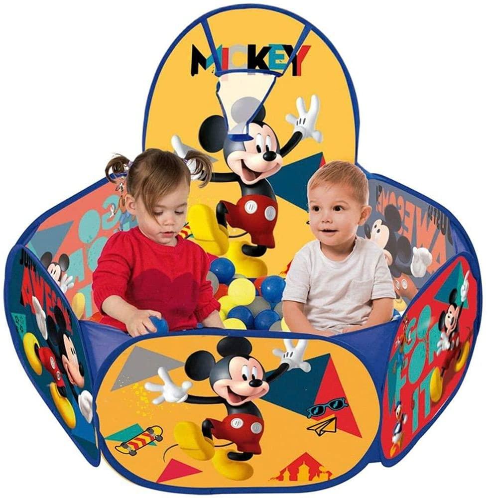 Piscina de Bolinha Mickey Disney Com 100 Bolinhas Zippy Toys