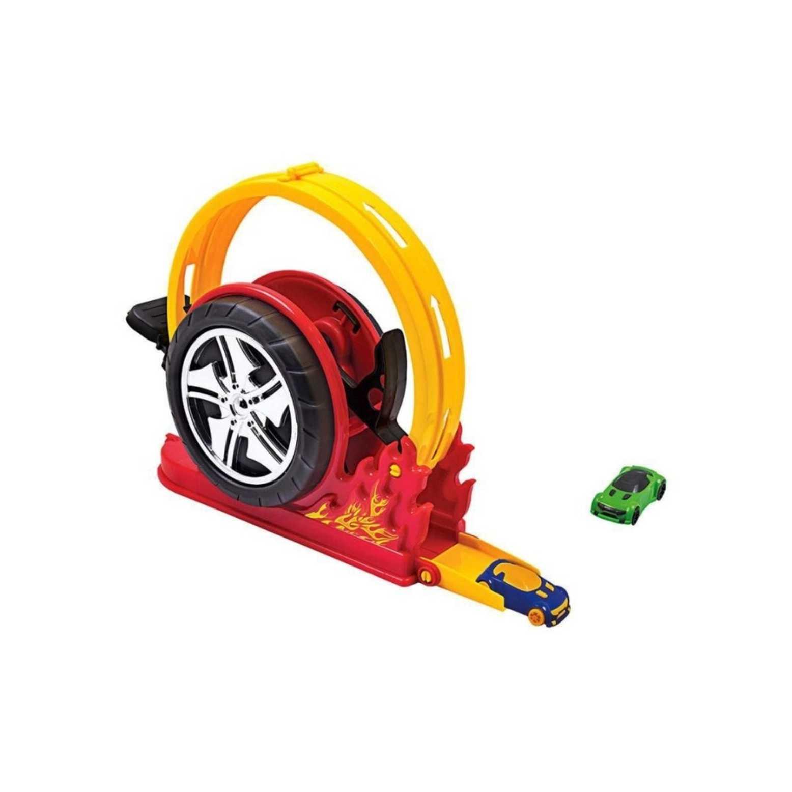 Pista Lançador Crazy Street Mega Speed - Bs Toys