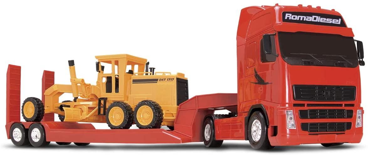 Roma Diesel - Motoniveladora (Caminhão) - Roma Brinquedos