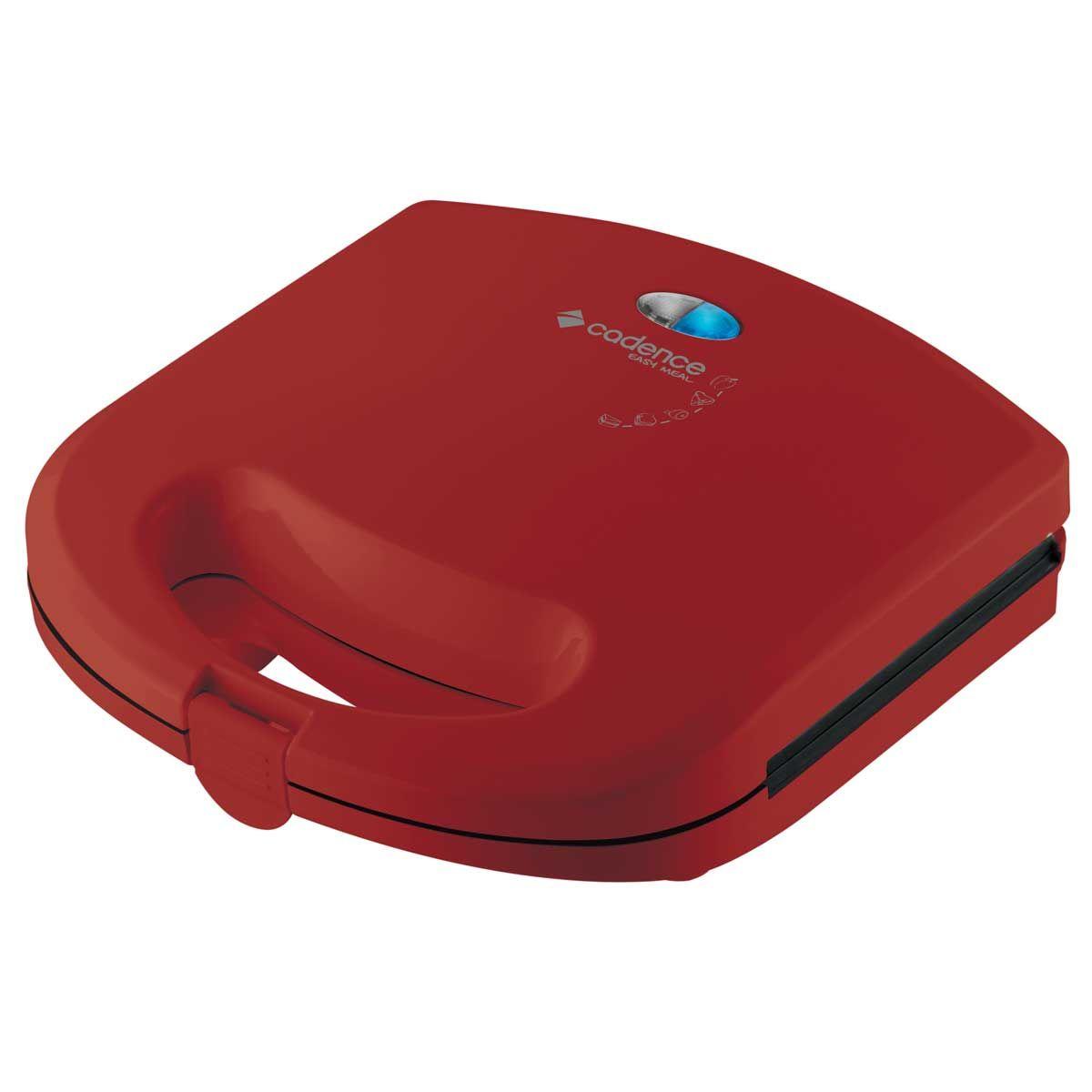 Sanduicheira Minigrill Cadence Colors Vermelha - 220V