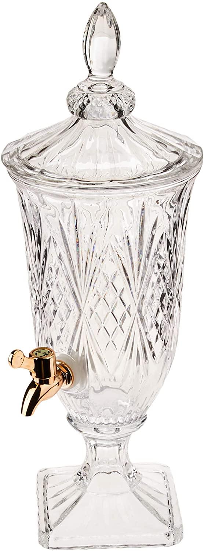 Suqueira De Cristal Brandon Cobre 2 Litros - Lyor