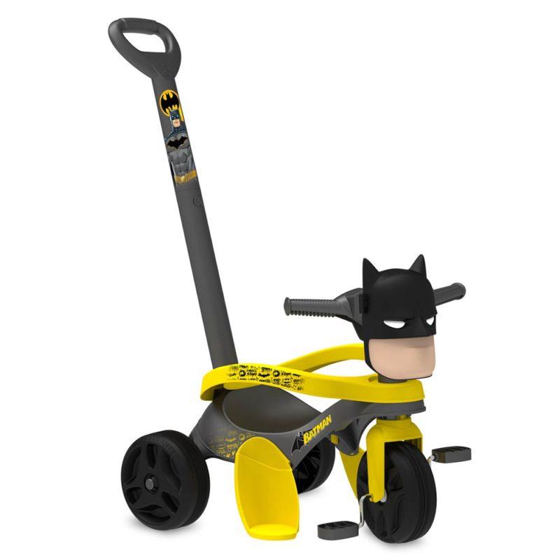 Triciclo Infantil Batman Mototico com Empurrador - Bandeirante