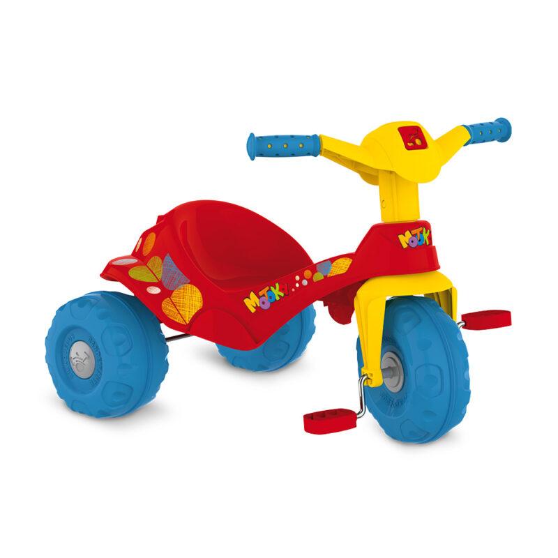 Triciclo Motoka Passeio - Vermelha - Bandeirante