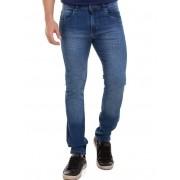 Calça Jeans Masculina Slim Original Elastano Lycra Direto Da Fábrica Conexão