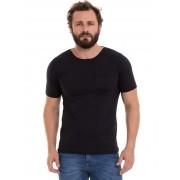 Camisa Camiseta Masculino Manga Curta Básica Com Bolso Conexão