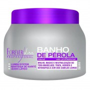 Forever Liss Banho de Pérola Máscara Loiro Brilhante 250g