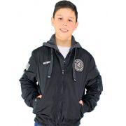 Jaqueta Juvenil Aviador Forrada Masculino Conexão