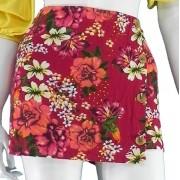 Shorts Feminino Casual Soltinho Estampado Conexão