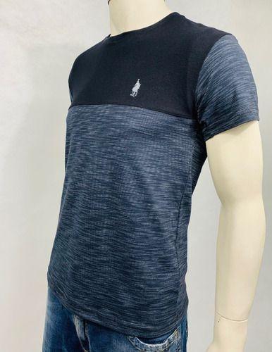 Camiseta Masculina Com Recorte Conexão