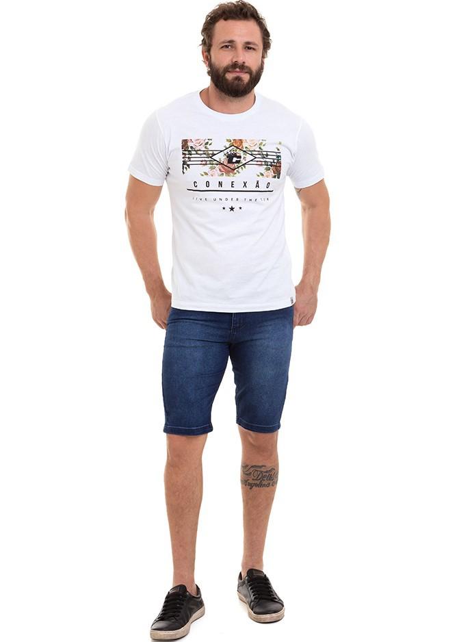 Bermuda Masculina Jeans Conexão