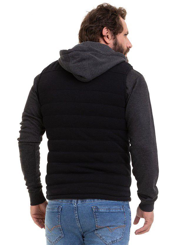 Jaqueta Masculina Colete Dupla Face 2 em 1 Conexão