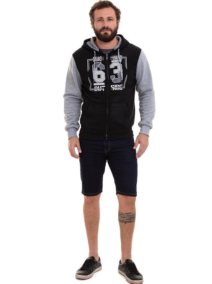 Blusa Masculina de Frio Jaqueta Moletom Conexão