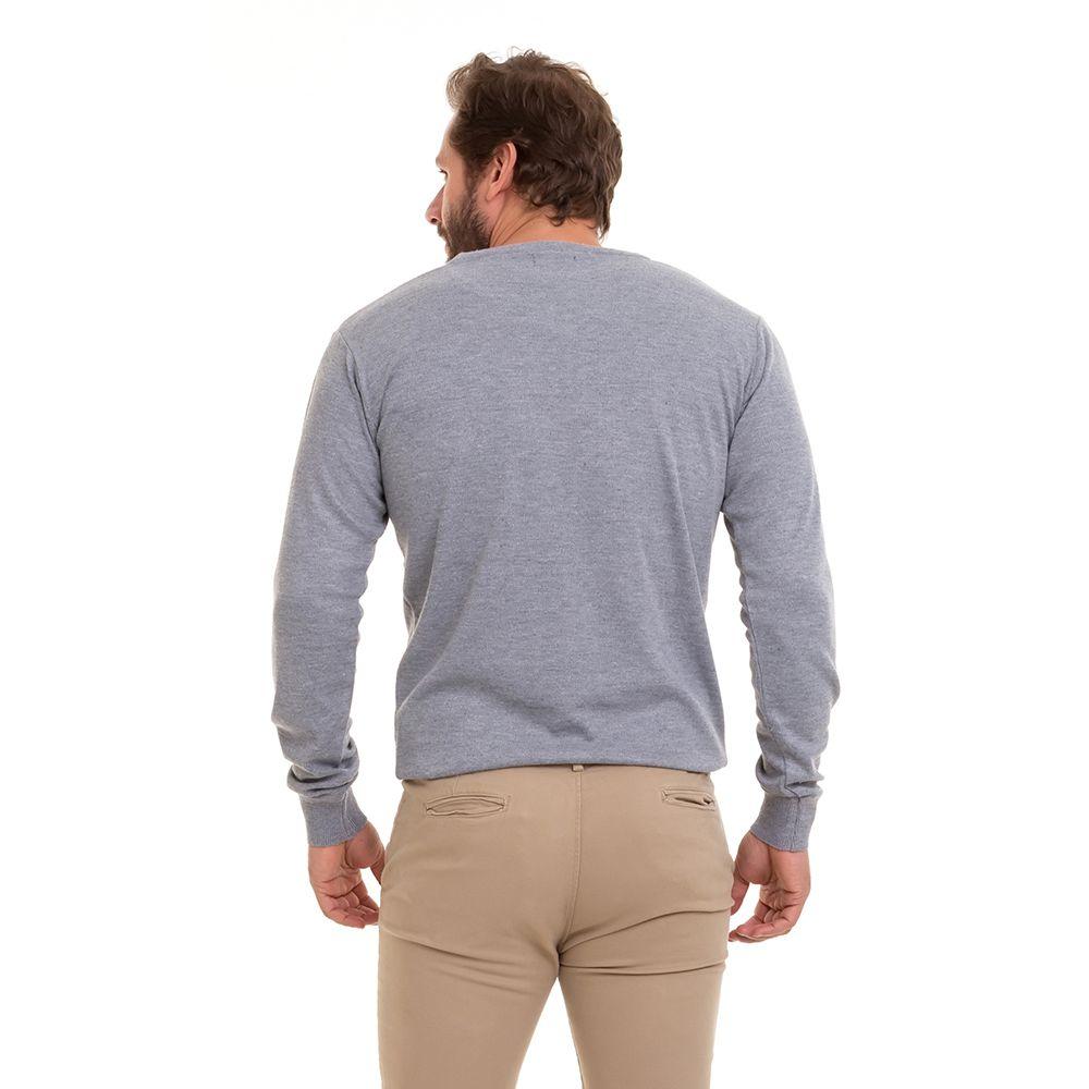 Blusa Suéter Tricô Básico Masculina Conexão