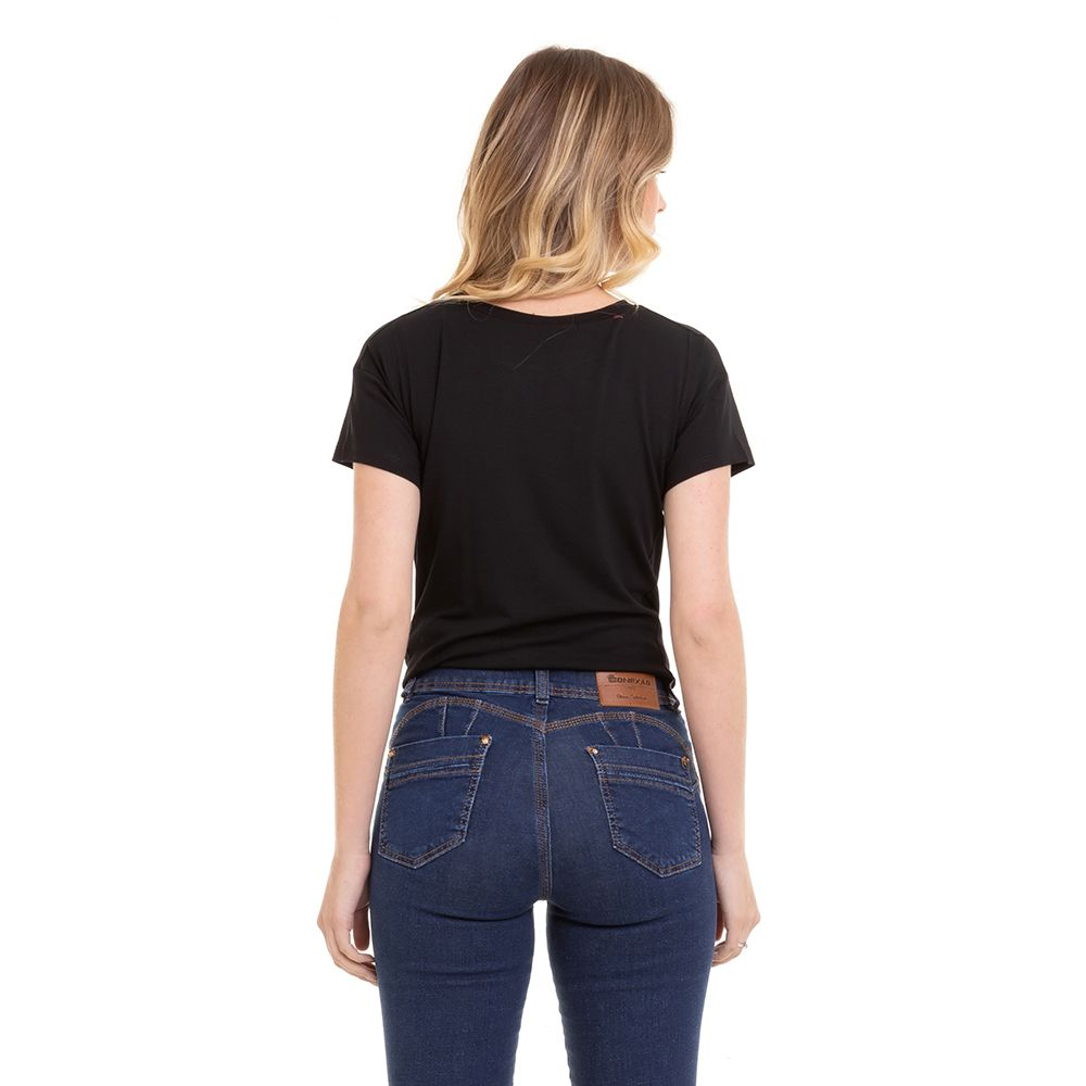 Blusa T-Shirt M/C Feminina Conexão