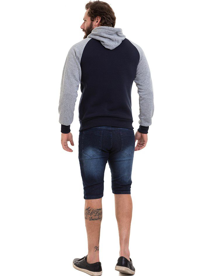 Blusão Masculino De Frio Moletom Conexão