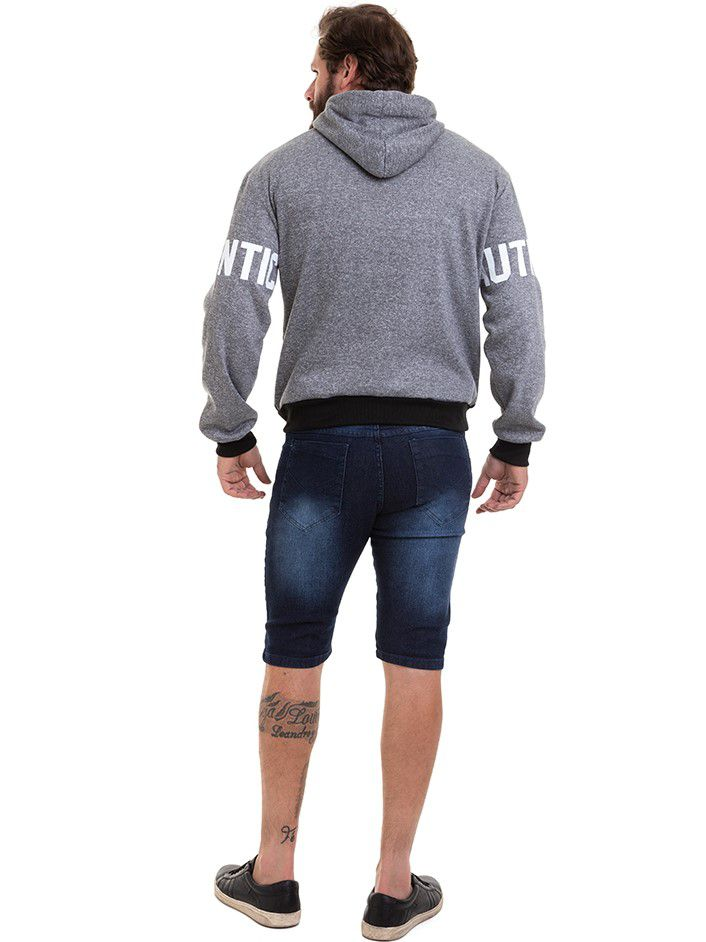 Blusão de Frio Moletom Masculino Conexão