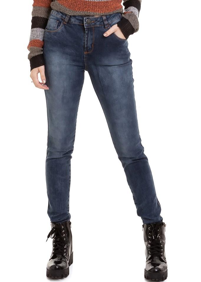 Calça Feminina Jeans Premium Básica Conexão