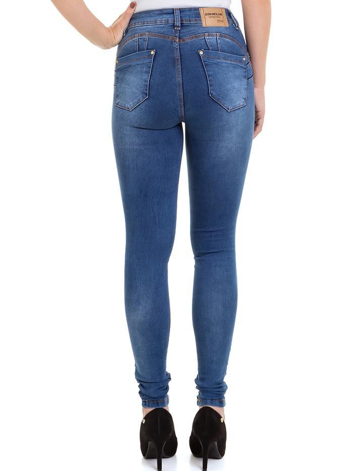 Calça Feminina Jeans Premium Levanta Bumbum Conexão