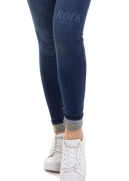 Calça Feminina Jeans Levanta Bumbum Conexão