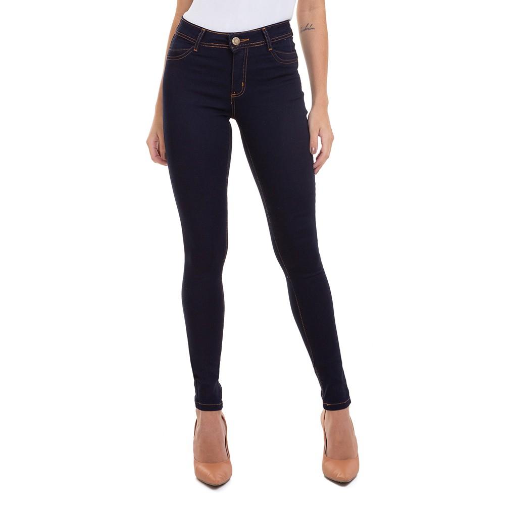 Calça Jeans Feminina Skinny com Detalhe de Pence Conexão