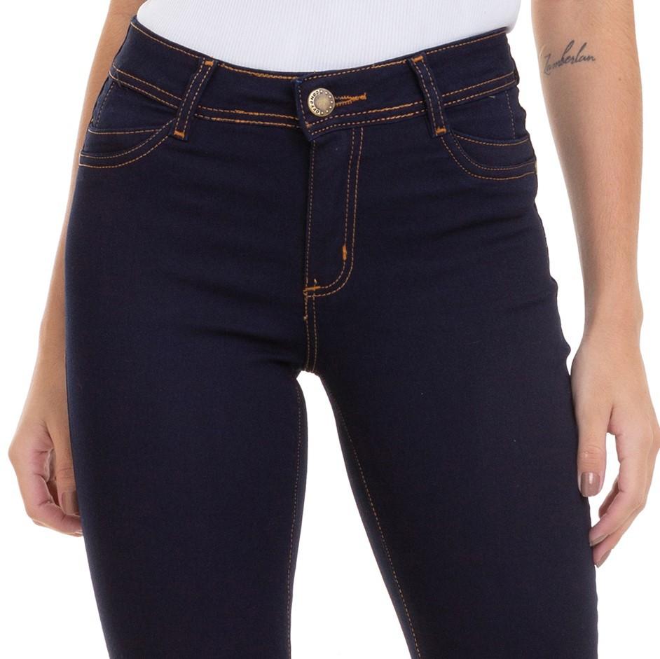 Calça Feminina Jeans Skinny Levanta Bumbum Conexão