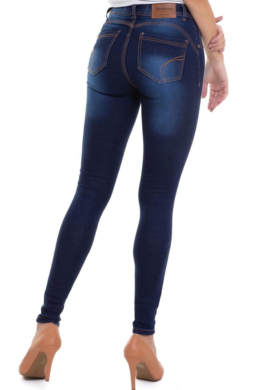 Calça Jeans Feminina Super Lipo  Conexão