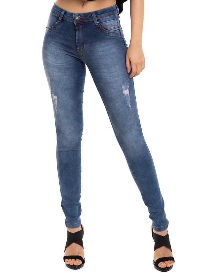 Calça Jeans Feminina Total Confort Conexão