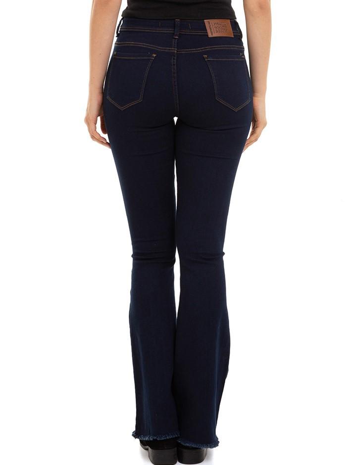 Calça Feminina Jeans Flare  Conexão