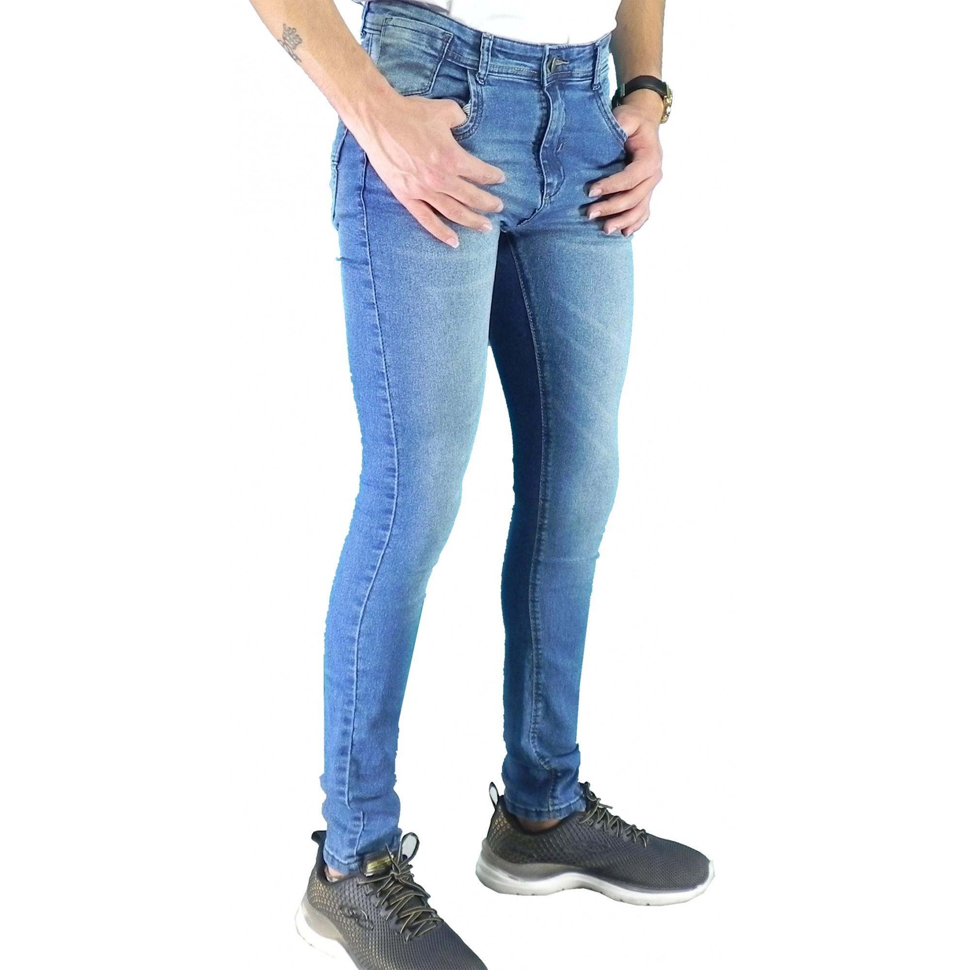Calça Jeans Masculina Clock Conexão
