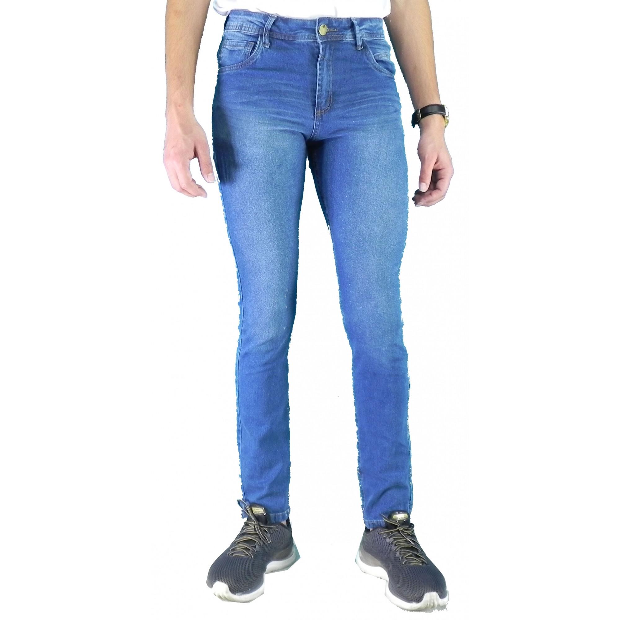 Calça Jeans Masculina Skinny Cutout Conexão