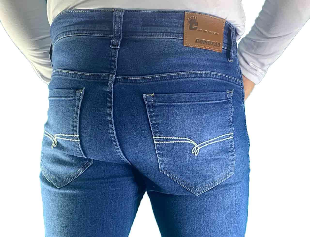 Calça Jeans Masculina Skinny Total Confort Conexão