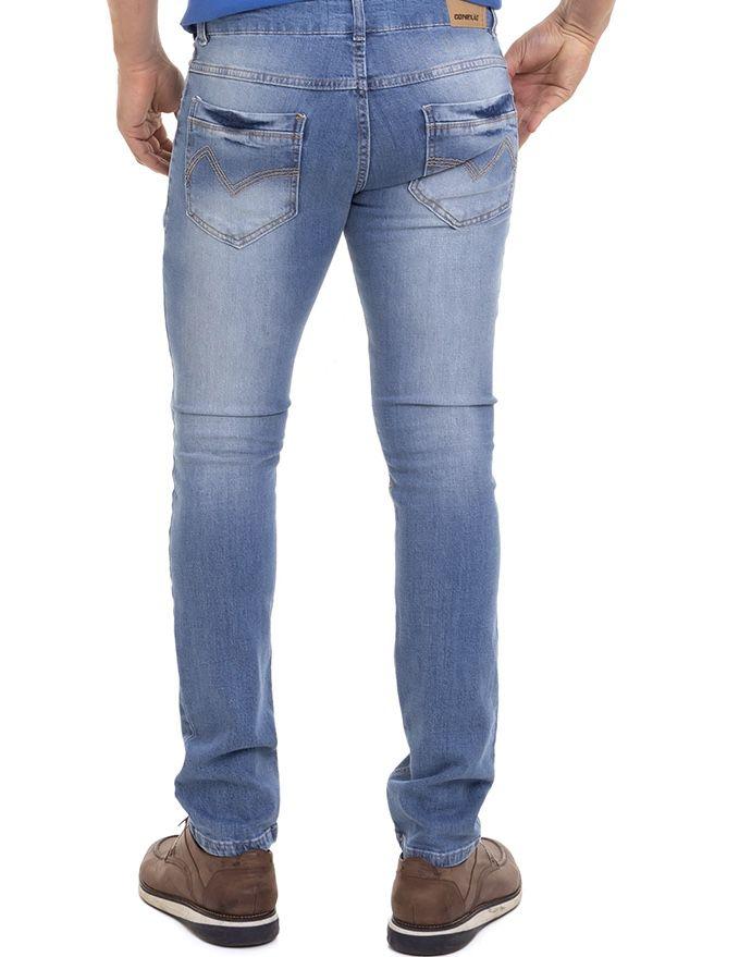 Calça Jeans Masculino Confort Premium Conexão