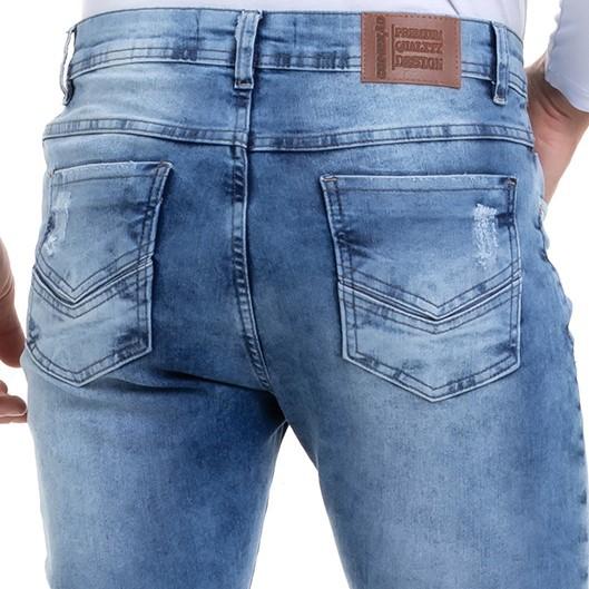 Calça Masculina Jeans Delavê Destroyd Conexão